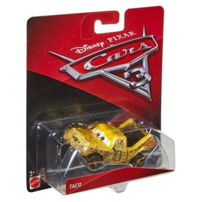 Auto De Metal Cars 3 Modelo Taco Original Mattel