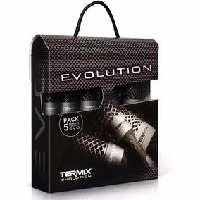 Kit 5 Escovas De Cabelo Termix Evolution Plus