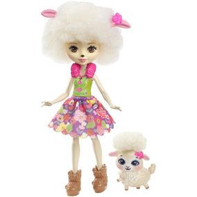 Boneca Fashion E Pet - Enchantimals - Lorna Lamb - Mattel