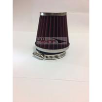 Filtro De Ar Esportivo Tuning 42mm Titan Ybr Strada Rd Fan