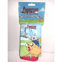 Paquete De Seis Fundas Adventure Time, Clip Y Cierre Ginga