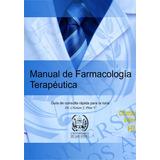 Manual De Farmacología Terapéutica