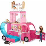 Barbie Pop-up Camper Niña Vehiculo Mattel Entrega Inmediata!