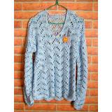 Tejidos Artesanales A Crochet: Sweater Calado, Última Moda!