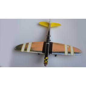 P-47,aeromodelo Elétrico Isopor Voa Muito Bem.
