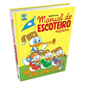 Livro Hq Manual Do Escoteiro Mirim Walt Disney Colecionador