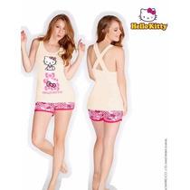 Vicky Form Teens Pijama Playera Short Hello Kitty Mod.4614