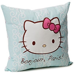 Hello Kitty Cojín Paris Color Menta