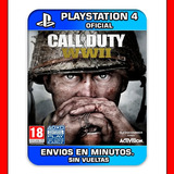 Call Of Duty Ww2 Ps4 En Español | Digital | Stock Ya