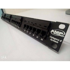 Patch Panel Amp Netconnect 24 Portas Cat 5e