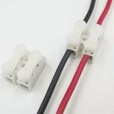 Conector Para Fios Duplo 2 Vias Sem Solda E Sem Parafusos
