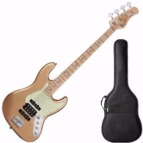 Baixo Tagima Jazz Bass Jmj 4 Cordas Passivo - Dourado