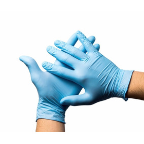 Luva Procedimento Nitrílica Azul Nugard Sem Pó C/100 Pp