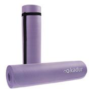 Mat Yoga Colchoneta 8 Mm Nbr + Correa Enrollable Pilates
