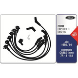 Juego Cable Bujias Ford Explorer 4.0 6 Cil Motorcraft