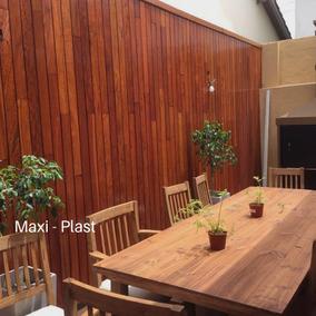 Revestimiento Madera Revestimientos Para Paredes En Moron En - Revestimiento-de-madera-para-paredes-interiores