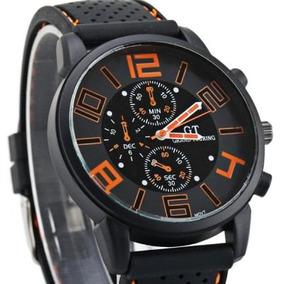 Relógio Unissex Esportivo Analogico Pulseira Silicone Leilao