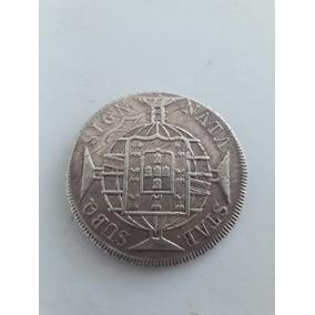 Moeda Antiga, 960 Réis, 1821, Letra Monetária