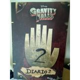 Libro Gravity Falls Diario 2 Nuevo Blanco Y Negro Aaa