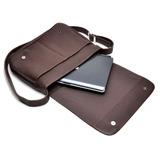 Pasta Carteiro Couro 100%legítimo Bolsa Notebook Tablet Ipod