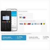 Maquina Maquininha Leitor De Cartões Crédito E Débito Point