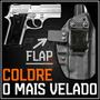 Coldre Magnum Interno Iwb Kydex Velado Pistola Taurus Pt 938