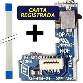 Kit Placa Reset Cabo Flat Ps2 70000 Power Botão Liga Desliga