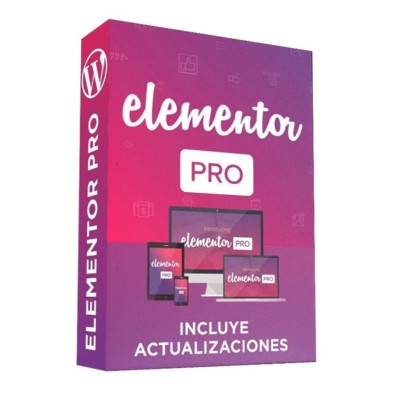 Plugin Wordpres Elementor Pro Full + Actualizaciones Futuras