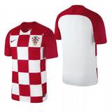 Camisa Croácia Final Copa Mundo 2018 Mais Brinde