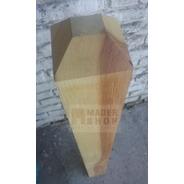 Columna -´poste Madera Dura Cep. 4 X 4 Pulg.  X 1 Mts. Mader Shop