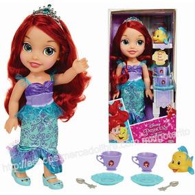 Muñeca Ariel Sirenita Disney Princesas C/ Accs. Envío Gratis