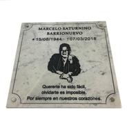 Marmol Tallado, Funeraria, Cementerio, Nicho, Lapida 30x20cm