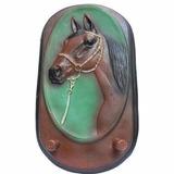 Cabide - Cabideiro De Parede Cabeça De Cavalo - Porta Toalha