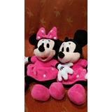 Minnie Mouse Peluche 30cm.vestido Rosa.