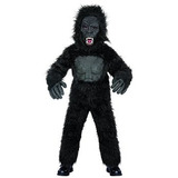 Disfraz Para Niños Estaciones Del Gorila De Vestuario, Gran