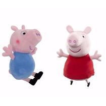 Peluches Suaves Peppa Pig Ó George Pig De 26 Cm