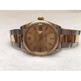 Rolex Date Acero Oro Oyster Con Caja