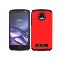 Funda Case Hibrido P/ Motorola Moto Z Play Envio Gratis Dhl