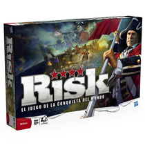 Risk El Juego De La Conquista Del Mundo Hasbro Envío Gratis