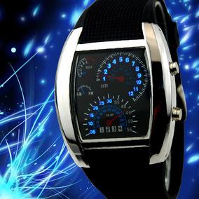 Reloj Led Tablero Cluster Deportivo Velocimetro Envio Gratis