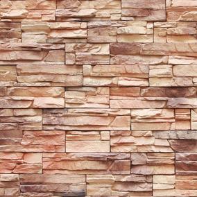 Papel De Parede Pedras Em Filetes Canjiquinha Autoadesivo
