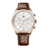 Reloj Tommy Hilfiger 1791183 Cuero Marrón Hombre