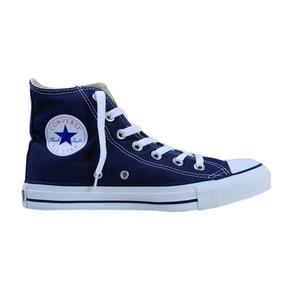 Tenis Converse All Star Azul De Bota ¡envio Gratis!