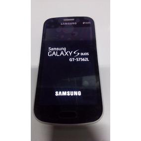 Samsung Galaxy S Duos Gt-s7562l Tela Boa -não Reconhece Chip