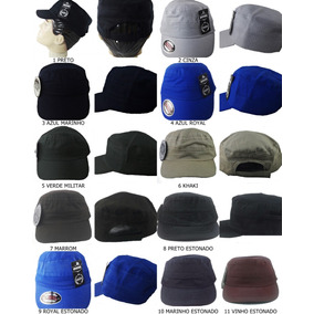 Caps Militares - Boinas para Masculino no Mercado Livre Brasil 12f7251b987
