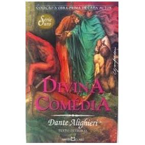 Livro A Divina Comédia - Dante Alighieri - Martin Claret