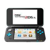 Nintendo 2ds Xl Negro Y Turquesa
