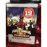 Dvd Power Rangers Super Samurai Coleção 3 Discos