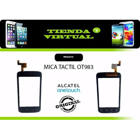 Tactil Touch Mica Digitizer Alcatel Ot983 983a