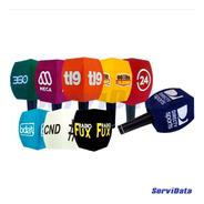 Capuchon Para Micrófono Personalizado Por 9 Unidades